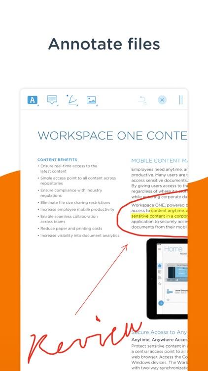 Content - Workspace ONE screenshot-6
