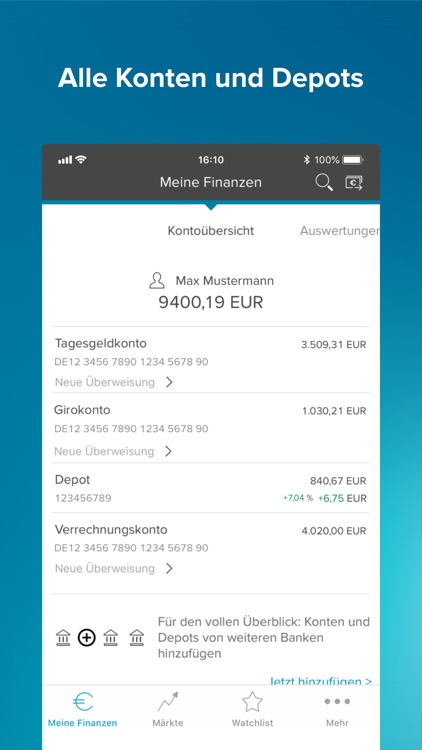 Consorsbank screenshot-1