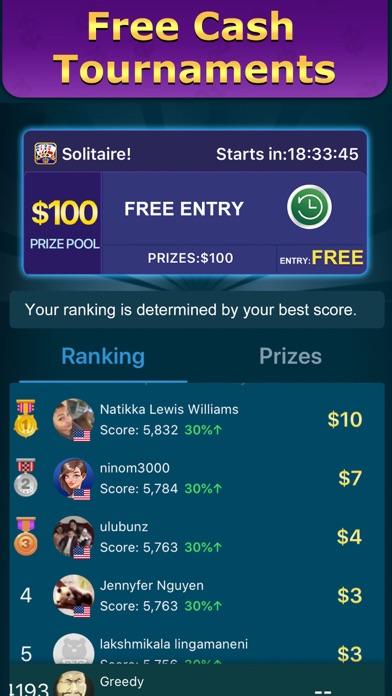 Solitaire Clash: Win Cash screenshot 4