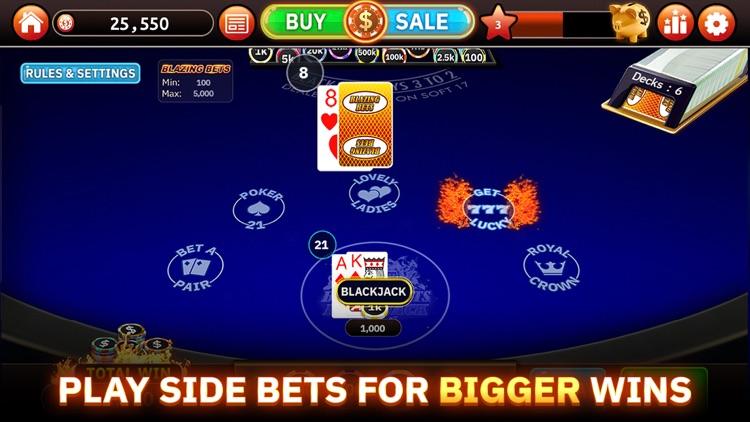 Blazing Bets Blackjack 21