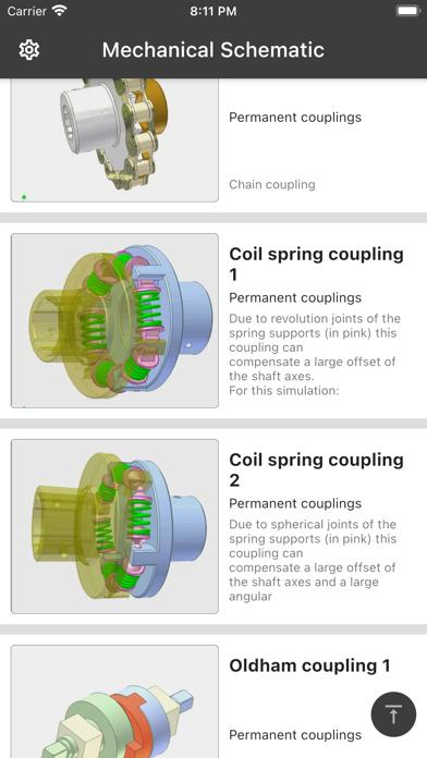 Mechanical schematics screenshot 1