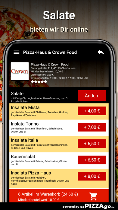 Pizza-Haus Oberhausen screenshot 5