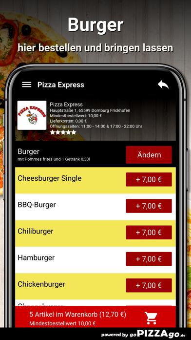 Pizza Express Dornburg screenshot 6