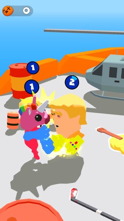 Stickman Boxing Battle 3D screenshot-3
