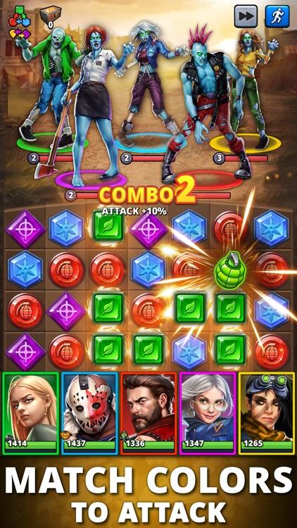 Puzzle Combat: Match-3 RPG screenshot-0