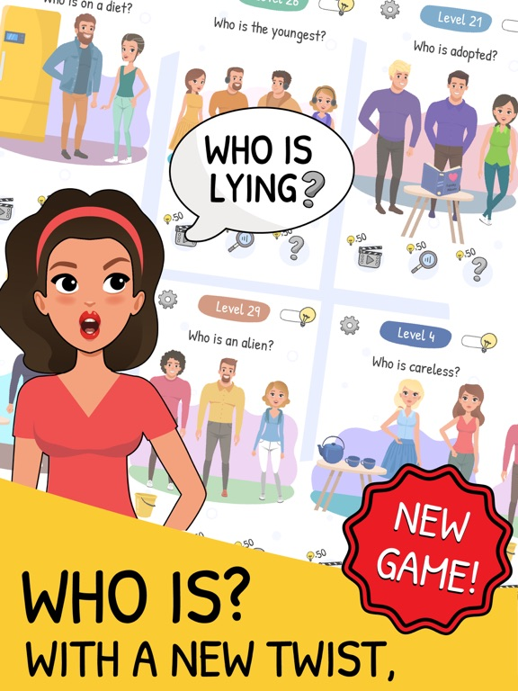 Who is? 2 Brain Puzzle & Chats screenshot 8