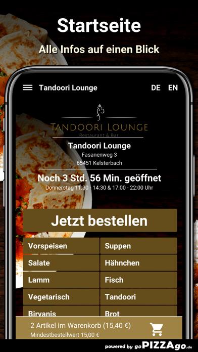 Tandoori Lounge Kelsterbach screenshot 2
