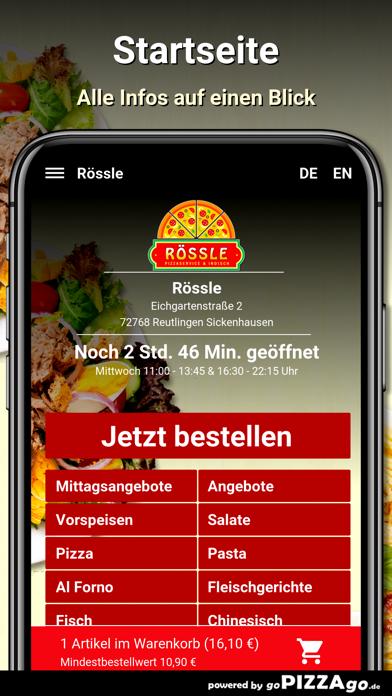 Rössle Reutlingen screenshot 2