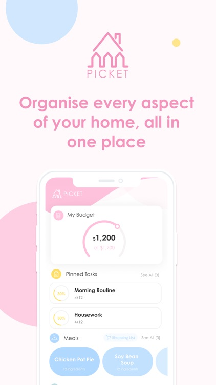 Picket - Your life organiser