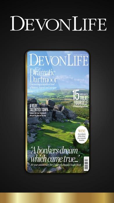 Devon Life Magazine screenshot one