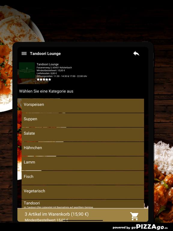 Tandoori Lounge Kelsterbach screenshot 8
