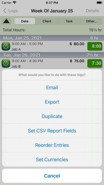 TimeTracker - Time Tracking screenshot-6