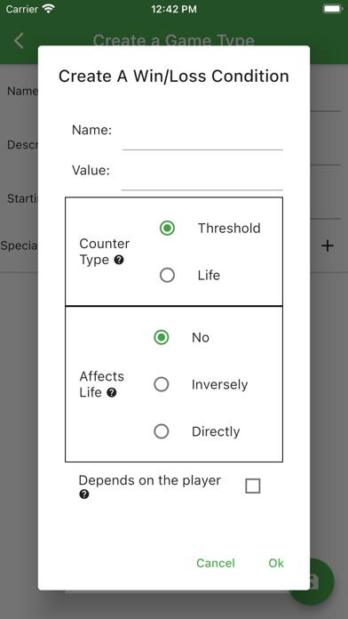 Zianderthal TCG Life Counter screenshot 2