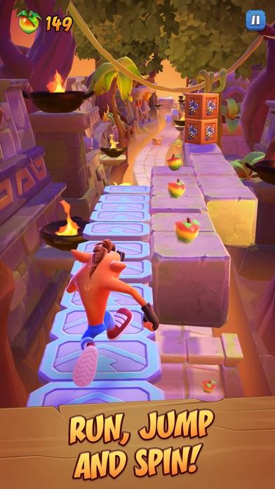 Crash Bandicoot: On the Run! screenshot 2