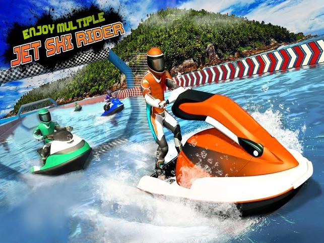 mô tô nước -  đua thuyền