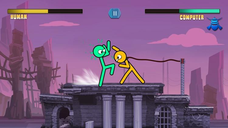 Slap Stick Fight: Stickman War screenshot-3