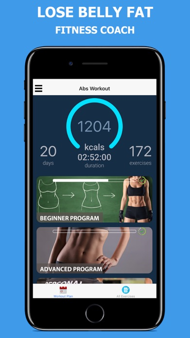 Lose Belly Fat - Abs Workoutのおすすめ画像3