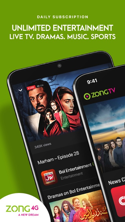 Zong Mobile TV