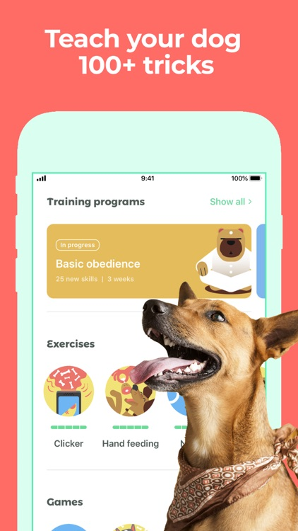 Dog Training & Clicker by Dogo screenshot-0