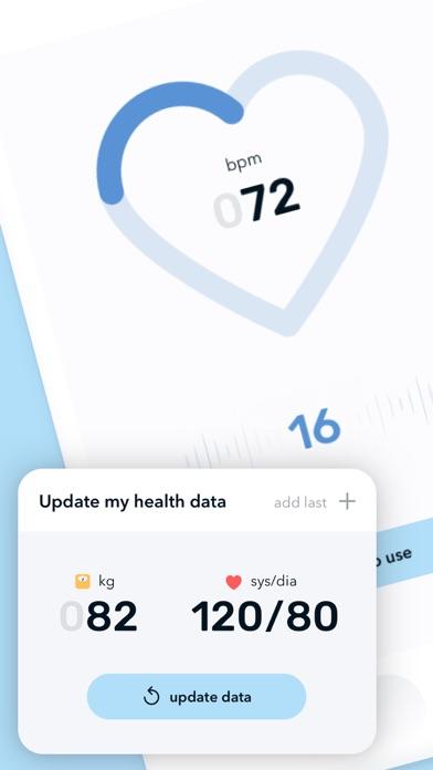 Pedometer & Heart Rate Monitorのおすすめ画像2
