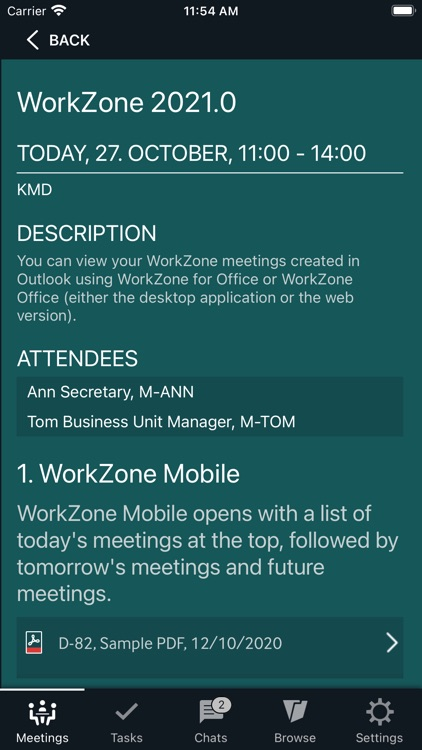 KMD WorkZone for Intune screenshot-6