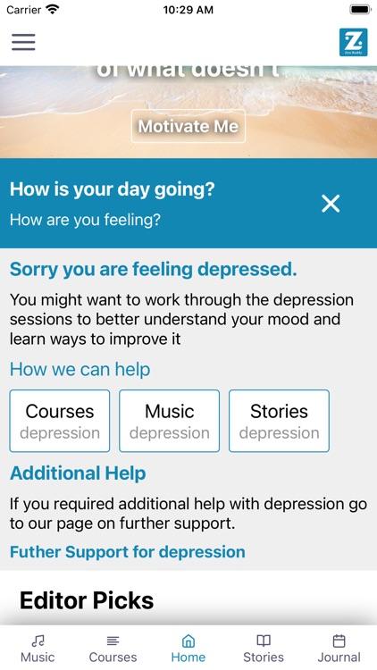 Zen Buddy: Wellness,Motivation screenshot-3