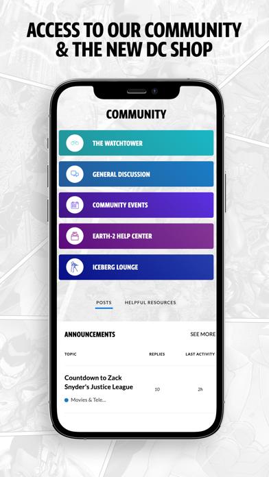 DC UNIVERSE INFINITE Screenshot