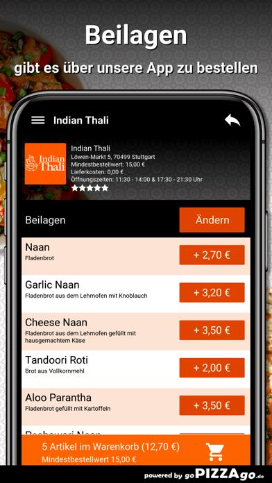 Indian Thali Stuttgart screenshot 6