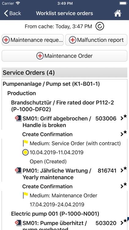 ISEC7 for SAP® solutions (MI) screenshot-3