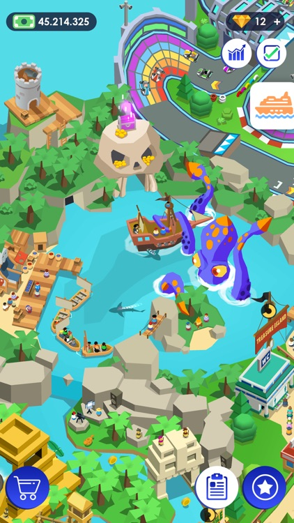 Idle Theme Park - Tycoon Game screenshot-6