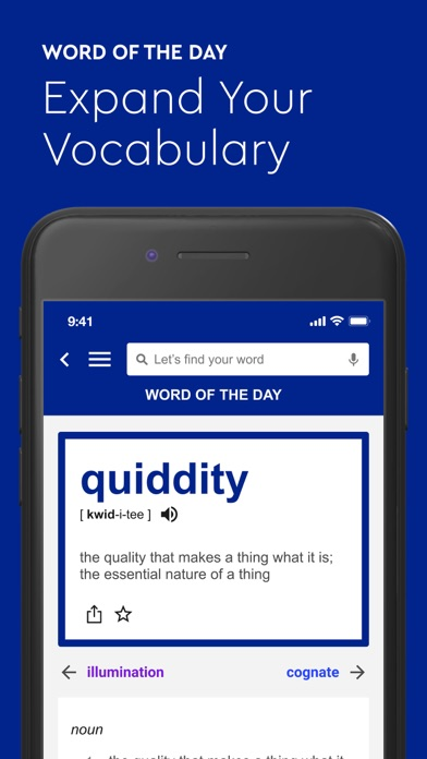 Dictionary.com: English Words Screenshot