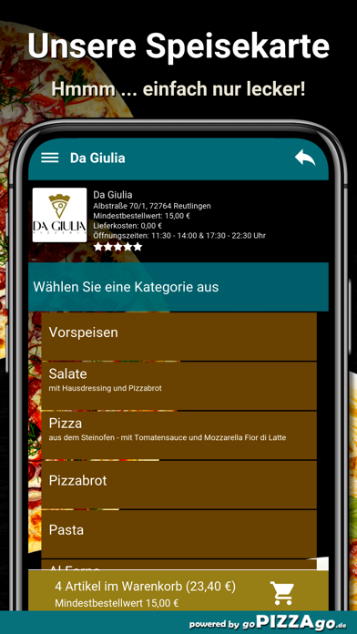 Da Giulia Reutlingen screenshot 4