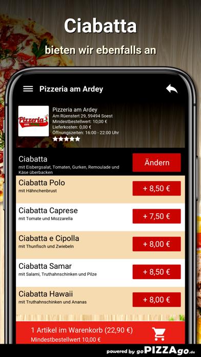 Pizzeria am Ardey Soest screenshot 6