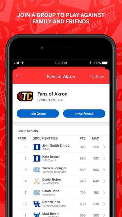 ESPN Tournament Challenge screenshot-7