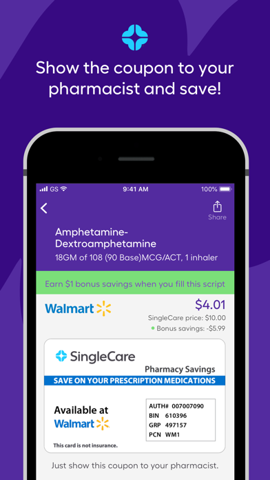 SingleCare screenshot