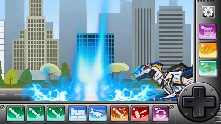机器人积木模型--恐龙积木拼装对战游戏 screenshot-4