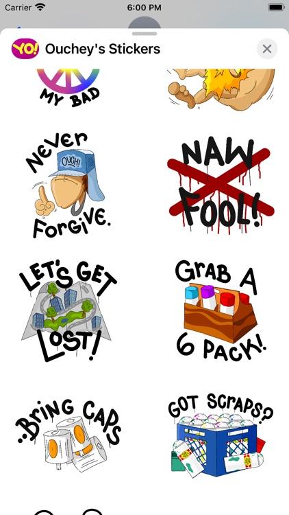 Ouchey's Sticker Pack screenshot-3