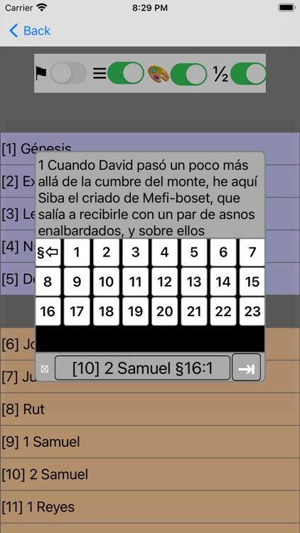 Santa Biblia Ver: Reina Valera screenshot-7