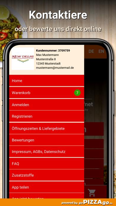 New Delhi Restaurant München screenshot 3