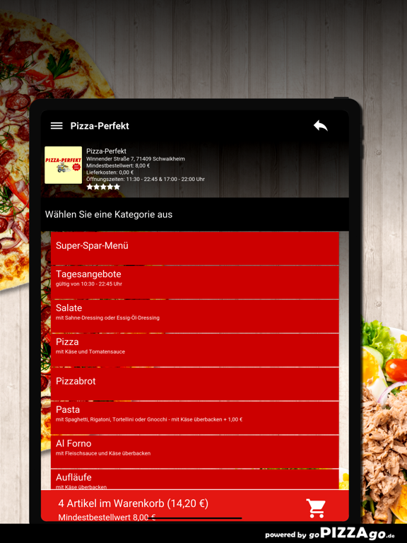 Pizza-Perfekt Schwaikheim screenshot 8