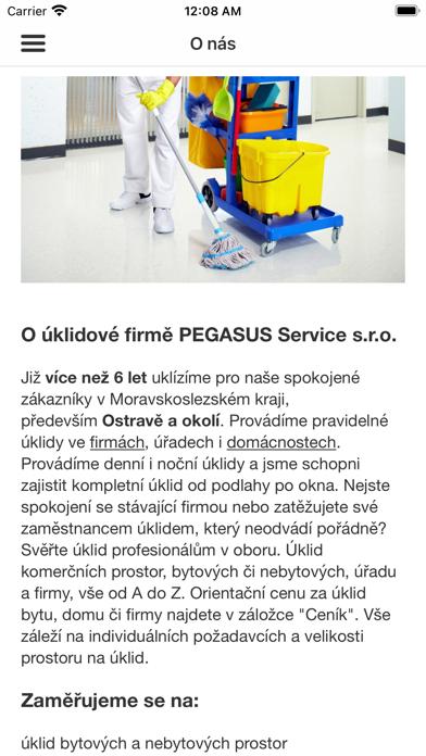 PEGASUS Service screenshot 1