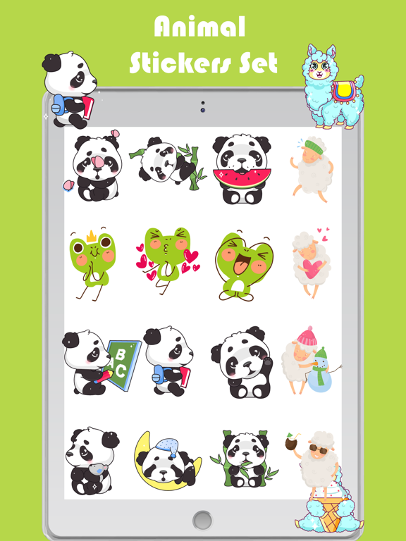 Animal Toon Stickers screenshot 8