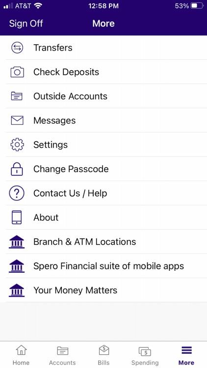 Spero Financial FCU screenshot-4