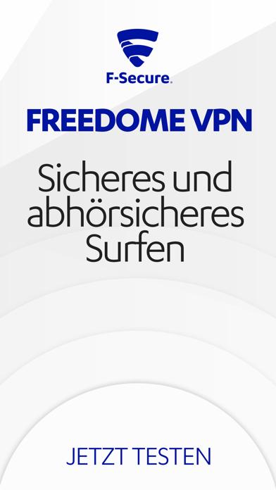 F-Secure FREEDOME VPNScreenshot von 6
