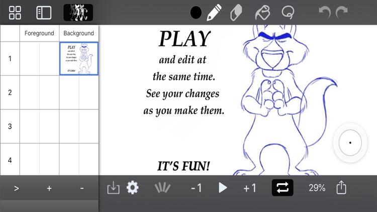 DigiCel FlipPad Animation App