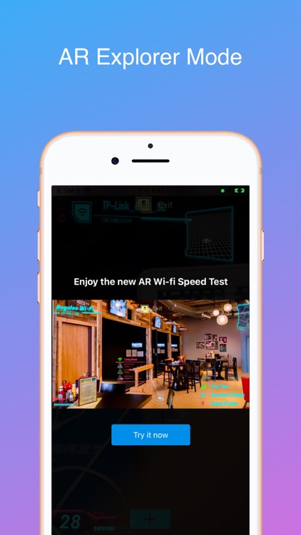 iWifi - speed & signal test
