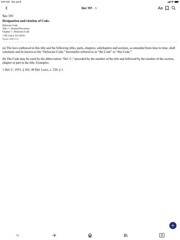 Delaware Code (by PocketLaw) screenshot 6