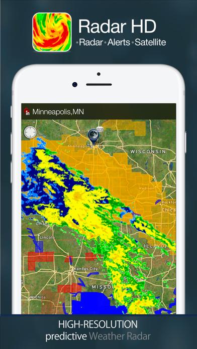 Radar HD - Radar and Alertsのおすすめ画像1