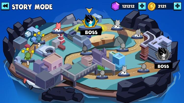 Stickman Warriors Battle screenshot-3