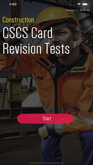 CSCS CARD TEST REVISION 2020 screenshot 1